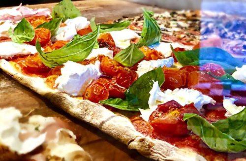 pizza alla pala rossa
