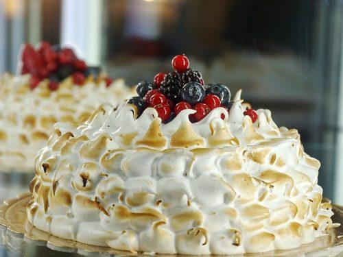 torta panna e meringa