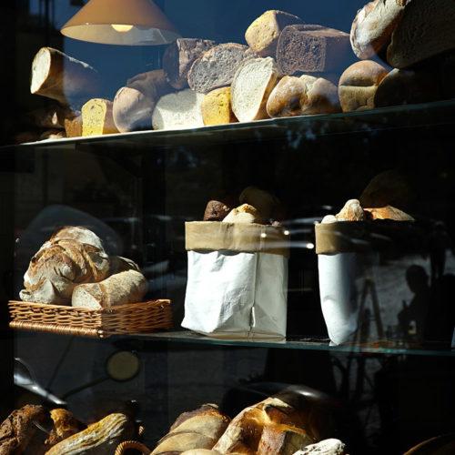 vetrina del pane